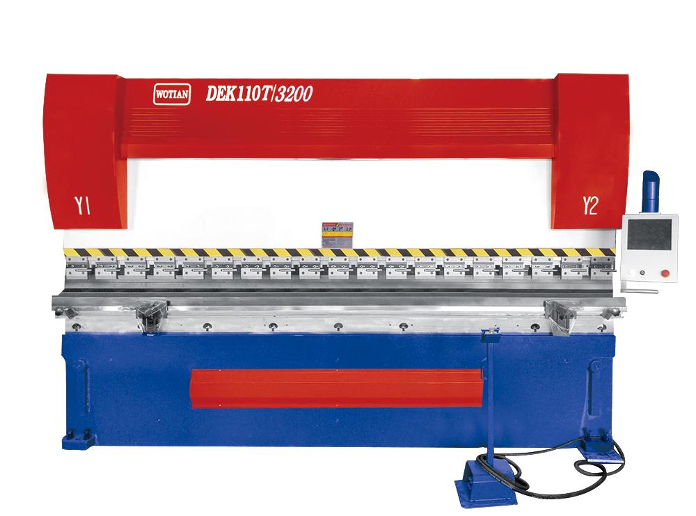 电液同步数控折弯机-DEK110T/3200_建企商盟-建筑建材产业的云采购联盟平台