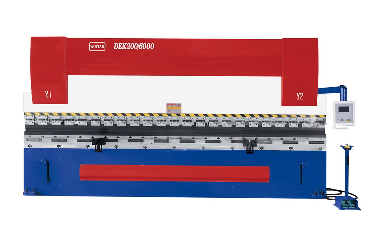 数控电液同步折弯机200T/6000-数控电液同步折弯机200T/6000
